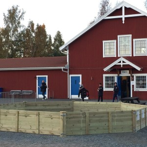 Nya Karlslundsskolans Gagarink str p Karlslunds Arena! rastlek gagaball